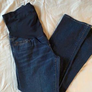 Liz Lange Maternity Straight Leg Jeans